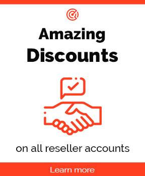 amazing reseller discount
